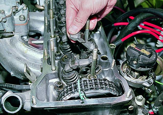 Разборка клапанного механизма ваз 2107 своими руками
