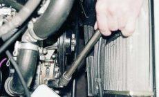 Замена ремня привода генератора