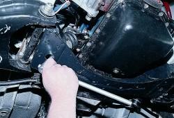 Замена подушки опоры двигателя