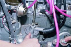 замена маслоотделителя системы вентиляции картера