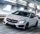 Интересная новинка линейки CLA от Mercedes-Benz