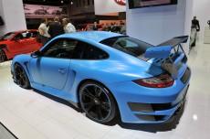 """""""Porsche 911 GT2 RS"""" от """"Techart"""" получил новый аэродинамический обвес и более массивное антикрыло."""