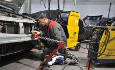 Оборудование для кузовного ремонта автомобилей