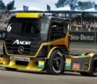 Гонки грузовиков: самый мощный Mercedes