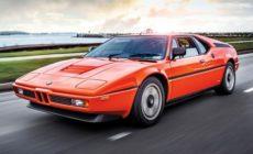 BMW M1 1980: особое внимание