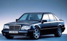 Антикоррозионная обработка Mercedes 124