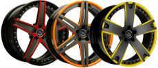 Оригинальные дизайнерские решения для колесных дисков