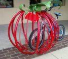 Нестандартные парковки для велосипедистов