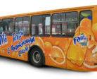 Почему популярна реклама на транспорте