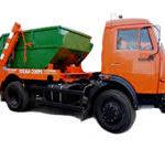 Устройство и использование бункеровоза-мусоровоза КО-440А1