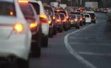 Уроки вождения. Пробки на дорогах